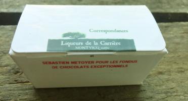 Vinaigres de la Carrière - Chocolats aux Bourgeons de Sapin - 5 pièces