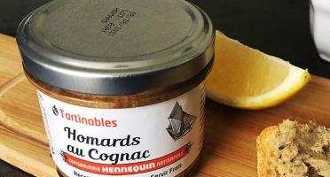 Ô'Poisson - Tartinables Aux Homard Et Cognac