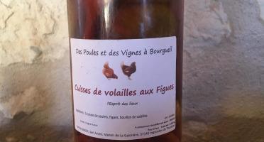 Des Poules et des Vignes à Bourgueil - Cuisses De Volailles Aux Figues