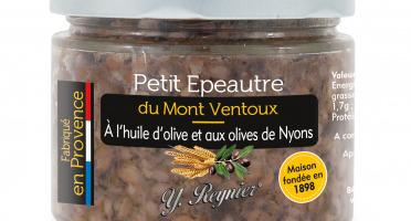 Conserves Guintrand - Petit Epeautre du Mont Ventoux à l'Huile d'Olive et aux Olives de Nyons Yr 314 ml