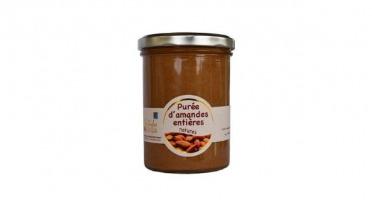 Les amandes et olives du Mont Bouquet - Purée D'amande Entière Nature 400g