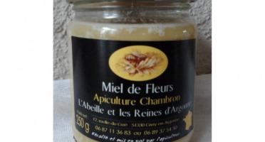 Apiculture Chambron L'Abeille et les reines d'Argonne - Miel D'argonne Toutes Fleurs 250g