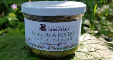 L'escargotière BONVALOT - Escargots à Poêler au Beurre Ail et Persil
