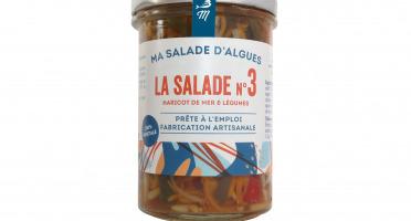 Marinoë - Salade N°3 Haricots de mer & Légumes, sauce soja - prête à l'emploi -