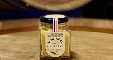 Maison Martin-Pouret - Moutarde Miel & Chardonnay