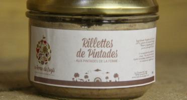 La Ferme du Logis - Rillettes de Pintade - Aux pintades de la ferme
