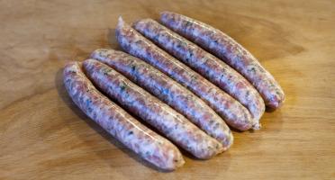 Ferme de Montchervet - Petites Saucisses aux Herbes X 4, 400g