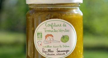 Papilles Sauvages - Confiture de Tomates Vertes Bio
