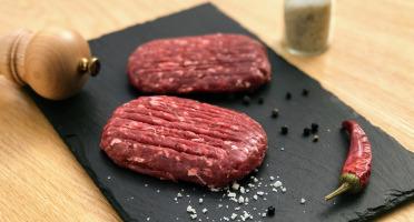 Les poilus-cornus du Grand Est - [Précommande] Steak Haché De Boeuf Highland-cattle - 500g