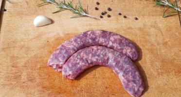 La ferme de Rustan - [Précommande] Saucisse de Bœuf Limousin 1 kg