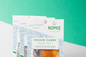 Nomie, le goût des épices - Veggie Curry