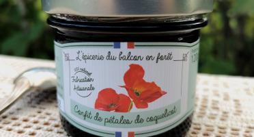 Le Balcon en Forêt - Confit de Pétales de Coquelicot - 120 g