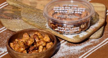 Les Niçois - Noix De Cajou Caramélisées Fleur De Sel De Tonton Pitou 110g