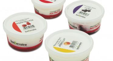 BEILLEVAIRE - Fromage frais aux fruits - Assortiment de 4