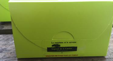Vinaigres de la Carrière - Chocolats à la Verveine et à la Marjolaine - 100 gr