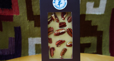 Pâtisserie Kookaburra - Tablette de Chocolat Blanc & Noix de Pécan