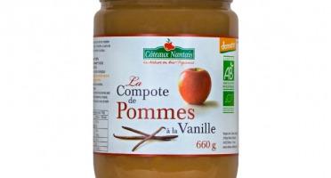Les Côteaux Nantais - Compote Pommes Vanille 660 G Demeter