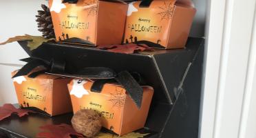 Le Petit Atelier - Boîte De Friture Pour Halloween Chocolat Noir 70%