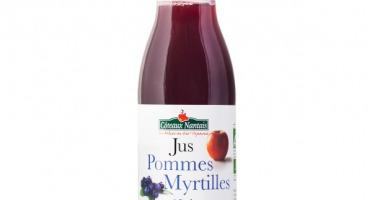 Les Côteaux Nantais - Jus Pommes Myrtilles 25 Cl