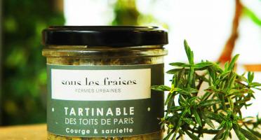 Sous les fraises - Epicerie des Toits de Paris - Tartinable Courge & Sariette