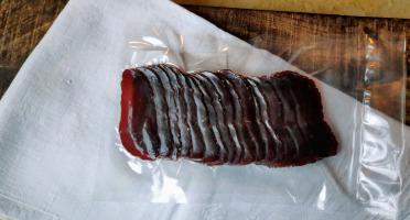 La Ferme Enchantée - Viande Séchée D'autruche Tranchée 110 gr