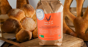 Du bio dans l'assiette - Farine De Blé T110 5kg