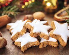 Graines Précieuses - Etoiles De Noël À La Cannelle Bio, Ganache Chocolat Blanc Et Miel De Châtaigner