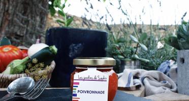 Les Jardins de Saphir - Poivronnade 90g