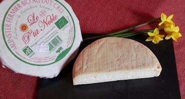 Ferme Les Bruyères - Munster Fermier Bio Au Lait Cru 'le P'tit Noble'