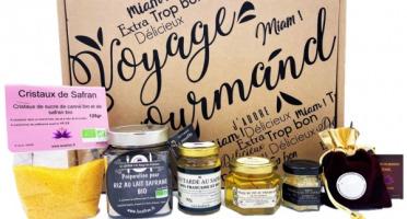 """Le safran - l'or rouge des Ardennes - Coffret """"Voyage Gourmand"""" safrané"""