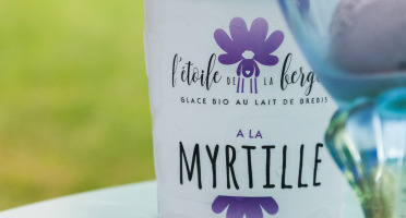 L'Etoile de la Bergère - Glace Bio Au Lait De Brebis Corse Myrtille 470 Ml