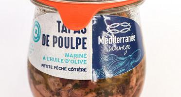 Méditerranée Sauvage - Tapas de Poulpe Mariné à l'Huile d'Olive Bio
