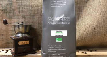 Cafés Factorerie - Café Mexique Tapachula Bio & Bird Friendly 1kg Grains - 100% Arabica