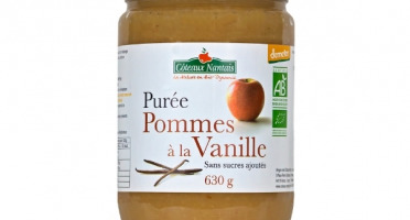 Les Côteaux Nantais - Purée Pommes Vanille 630g