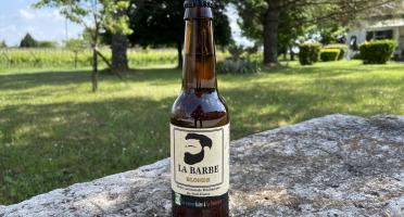 """Vignobles Fabien Castaing - Bière Artisanale Blonde """"La Barbe"""" Haute Fermentation - 33cl"""