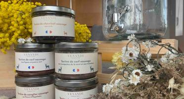 Venandi Sauvage par Nature - Panier 5 Terrines de Gibier 100% Français