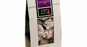 Des Lis Chocolat - Craqueline, Étui 150g