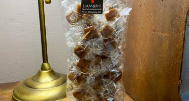 L'AMBR'1 Caramels et Gourmandises - Caramels Au Piment D'Espelette AOP - Sachet De 300g