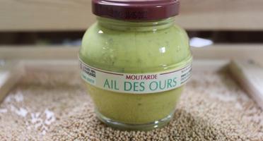 Domaine des Terres Rouges - Moutarde a l'ail des Ours 100 % graines Française Sans additif