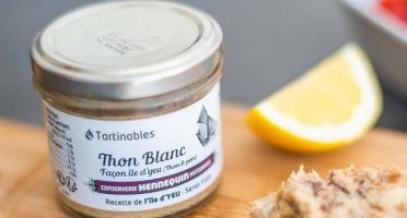 Ô'Poisson - Tartinables Thon Blanc Fumé