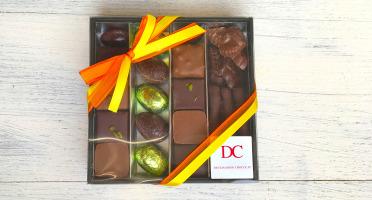 Déclinaison Chocolat - Coffret Pâques Carré 200g