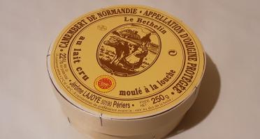 Gourmets de l'Ouest - Camembert de Normandie AOP au lait cru