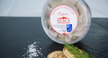 Olsen - Harengs en marinade oignon 200g Danemark