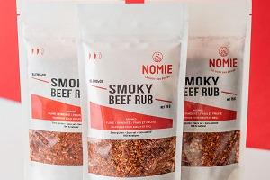 Nomie, le goût des épices - Smoky Beef Rub. Mélange Pou Marinade De Bœuf Et Bbq