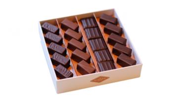 La Glacerie par David Wesmaël - Meilleur Ouvrier de France Glacier - Coffret de Chocolats Grands Crus et Caramel