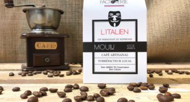 Cafés Factorerie - Café Mélange L'italien Moulu - 250g