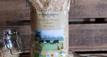 """Les Délices du Scamandre - Riz Bio Complet """"Manobi"""" IGP Riz de Camargue - 5kg"""