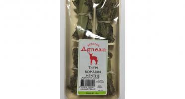 """Les Herbes du Roussillon - 4 Min-bouquets """"spécial Agneau"""" Thym, Romarin, Menthe."""