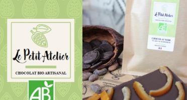 Le Petit Atelier - Tablette Chocolat Noir Et Oranges Confites