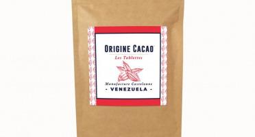 Maison Castelanne Chocolat - Tablette Venezuela - Ceyuga - 74% - Fèves Origine Bio